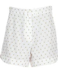8pm Shorts - White