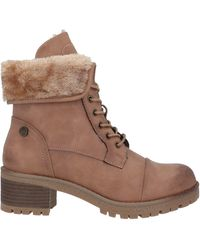 Xti Ankle Boots - Brown
