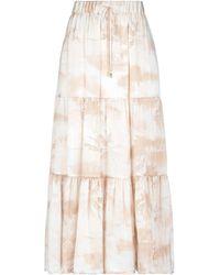 Max & Moi Long Skirt - Natural