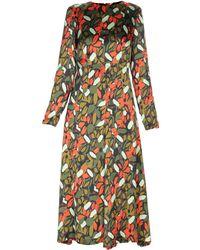 Goen.J - 3/4 Length Dresses - Lyst
