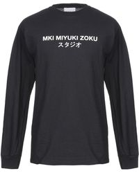 MKI Miyuki-Zoku Camiseta - Negro