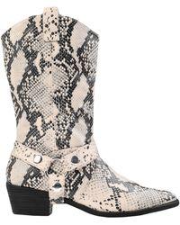 Steve Madden Ankle Boots - Natural