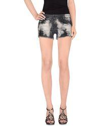MNML Couture - Denim Shorts - Lyst