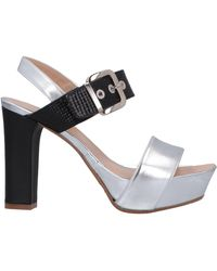 F.lli Bruglia Sandals - Metallic