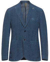 Harmont & Blaine Suit Jacket - Blue