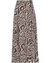 Ganni Long Skirt - Multicolour