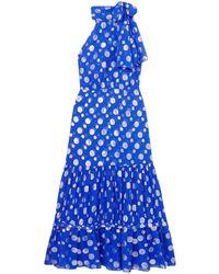 RIXO London Vestito longuette - Blu