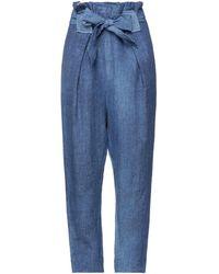 Vivienne Westwood Anglomania Pantalone - Blu