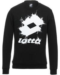 Lotto Leggenda Sweatshirt - Schwarz