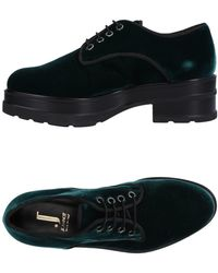 Jeannot Lace-up Shoe - Green