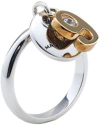 ef4acbb9bbcd3 Marc Jacobs Thumbs Up Ring in Metallic - Lyst