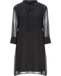 MY TWIN Twinset Short Dress - Black