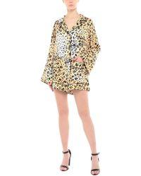 550515e2eb7d Kendall + Kylie Velvet Sequin Romper in Red - Lyst