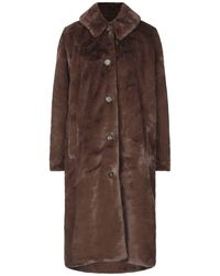 Minimum Teddy Coat - Brown