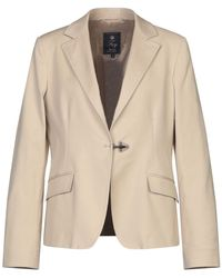 Fay Suit Jacket - Natural