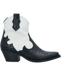 Kanna Ankle Boots - Black