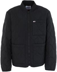 Tommy Hilfiger Synthetic Down Jacket - Black