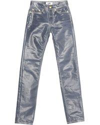 Eytys Pantalon en jean - Bleu