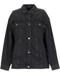 Cheap Monday Denim Outerwear - Black