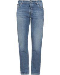 Brunello Cucinelli Pantalon en jean - Bleu