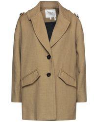 Ba&sh Overcoat - Multicolour