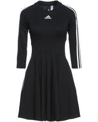 adidas Short Dress - Black
