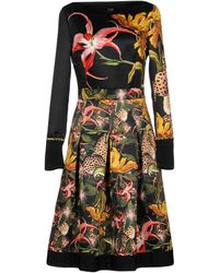 Class Roberto Cavalli Knee-length Dress - Black