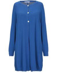 Les Copains Cardigan - Bleu