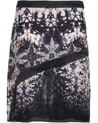 Roberto Cavalli Knee Length Skirt - Black
