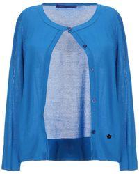 Blue Les Copains Cardigan - Blue