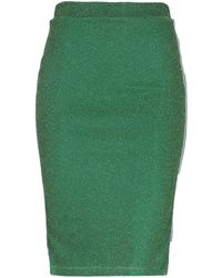 Vila Midi Skirt - Green