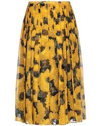 Michael Kors 3/4 Length Skirt - Yellow