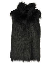 Armani Jeans - Faux Fur - Lyst