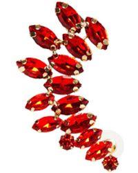 8 by YOOX Single Earring - Red