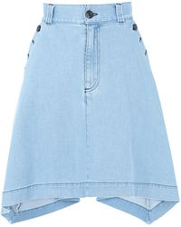 See By Chloé Jupe en jean - Bleu