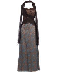 Gattinoni - Long Dress - Lyst