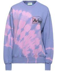 Aries Sweat-shirt - Violet