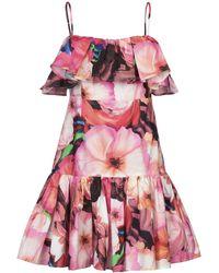 MSGM Vestito corto - Rosa