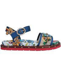 Dolce & Gabbana Sandali - Blu