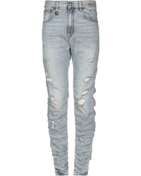 R13 Denim Pants - Blue