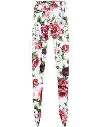 Dolce & Gabbana Leggings - White