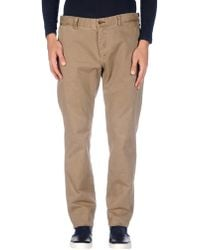AT.P.CO Casual Trousers - Natural