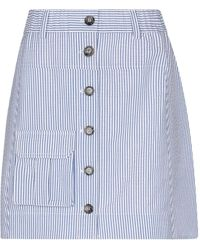 Ganni - Mini Skirt - Lyst