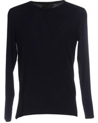 Silk And Cashmere Sweater - Blue