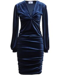 Berna Short Dress - Blue