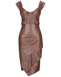 EUREKA by BABYLON Midi Dress - Brown
