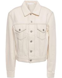 Helmut Lang Denim Outerwear - White