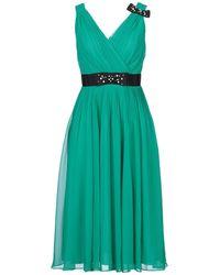 Kate Spade Vestito longuette - Verde