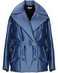 Jil Sander Down Jacket - Blue