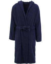 Emporio Armani Dressing Gown Or Bathrobe - Blue